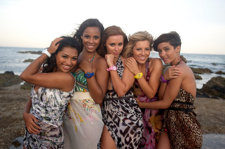 The Saturdays Wearing Ice-Watch
