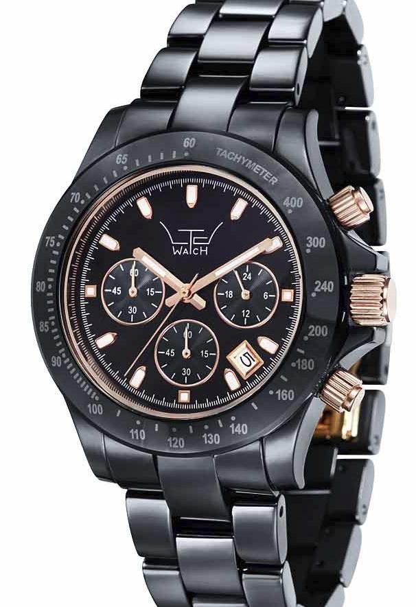 LTD Ceramic Chronograph Watch