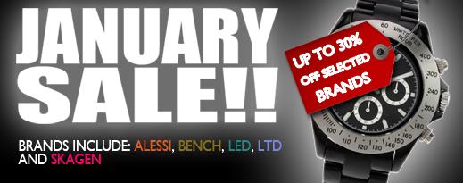 January Sale!!