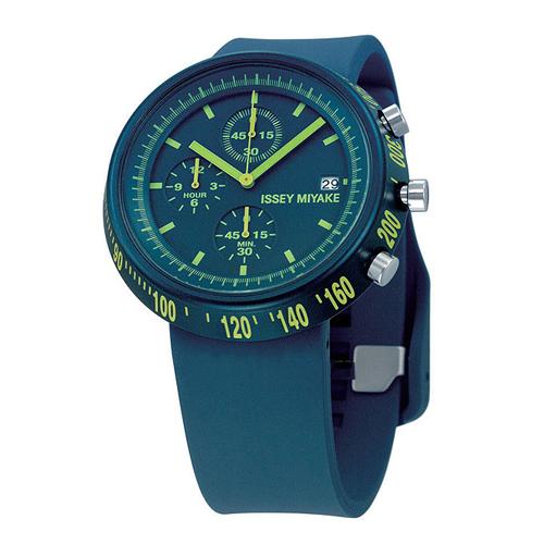 Issey Miyake Trapezoid Green Watch