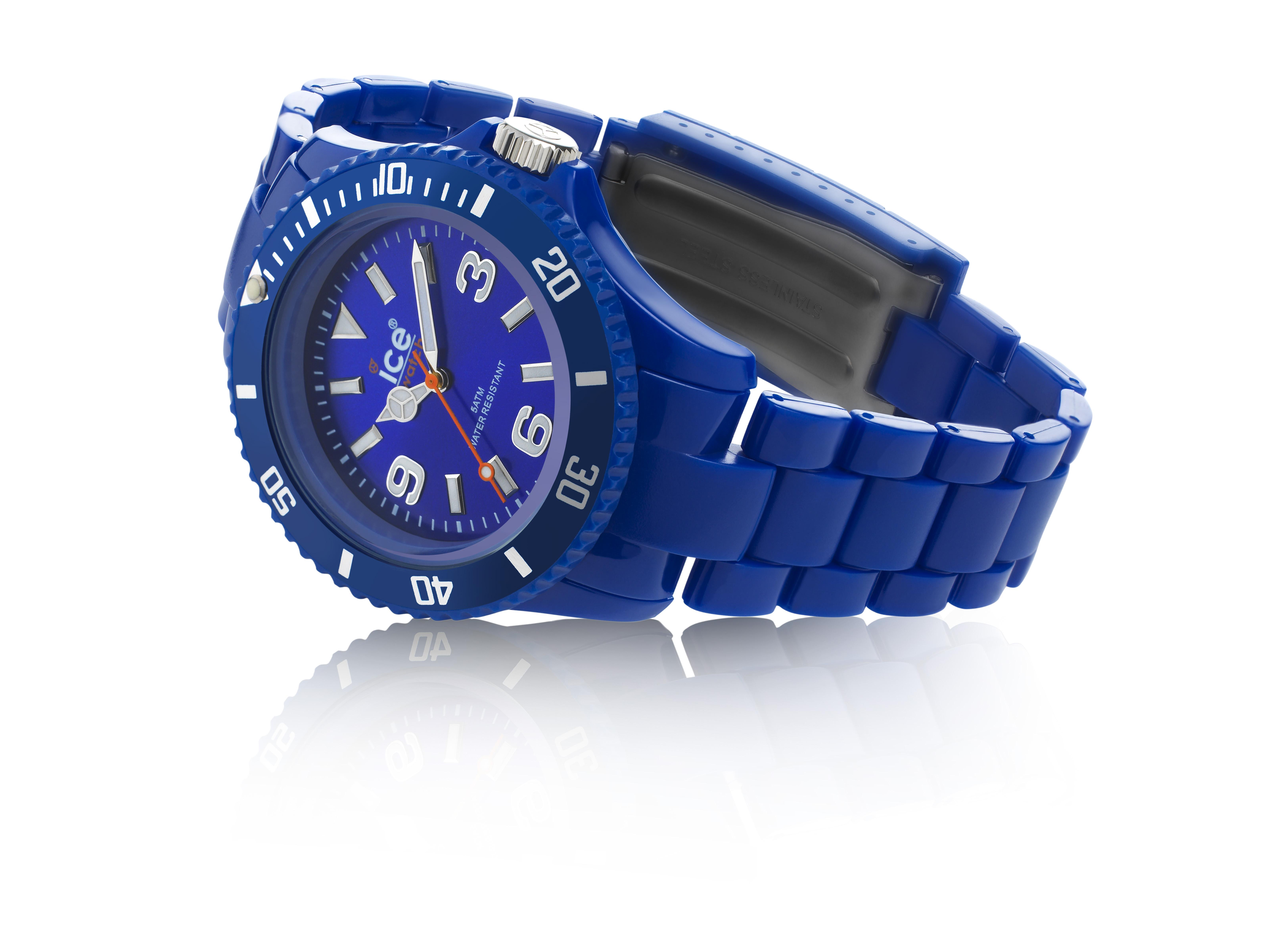 Blue Ice Watch