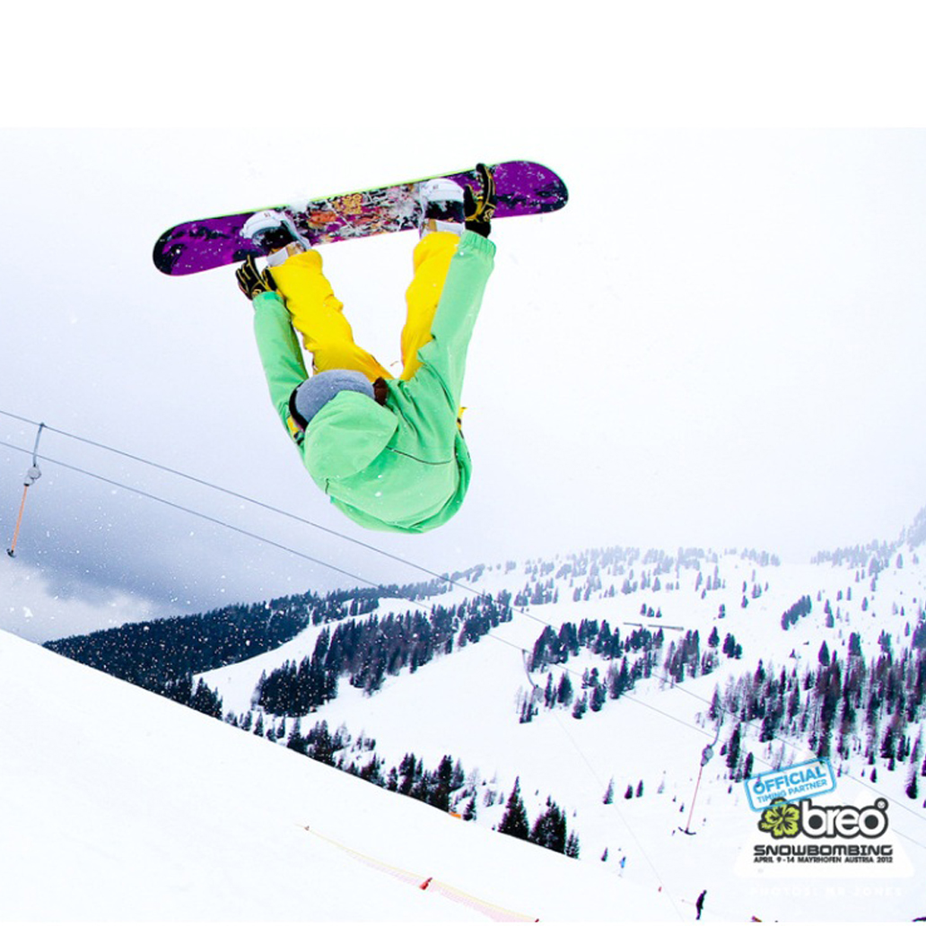 Breo Official Timing Partner Snowbombing 2012