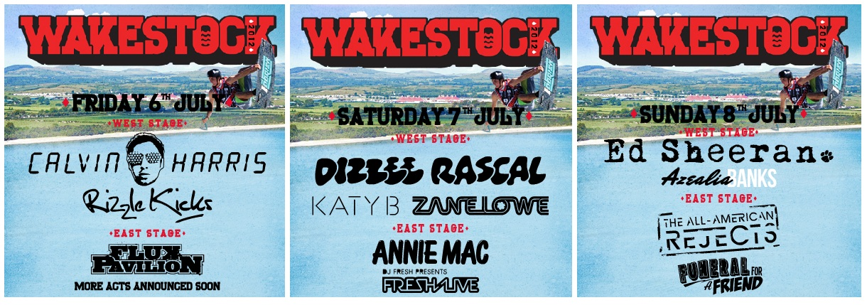 Breo Watches Wakestock Music Festival 2012