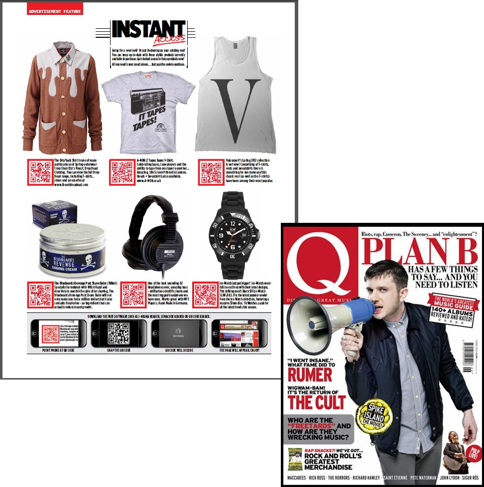 Q Magazine Tic Watches