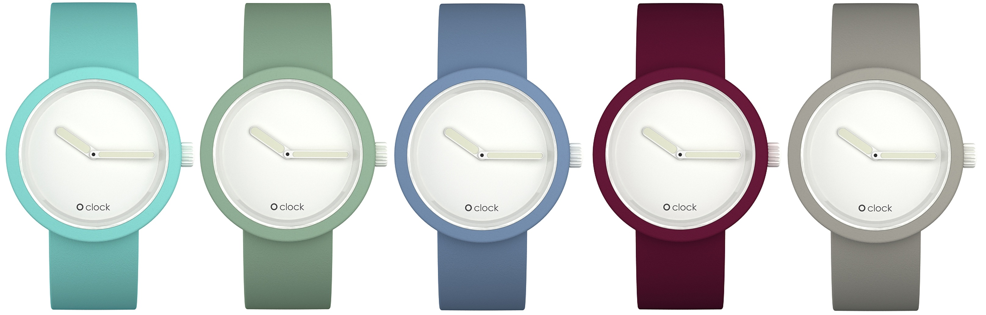 Newest Oclock Classic Watches New Colours