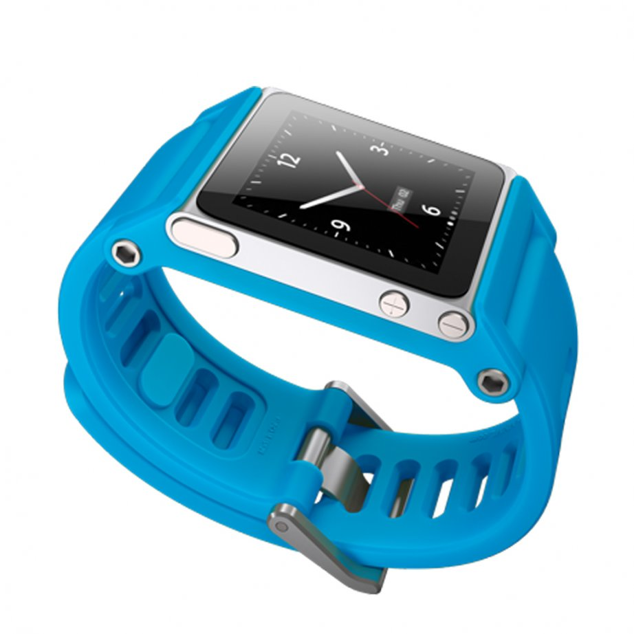 Apple iPod Nano Cyan Watch Strap TTBLU-008