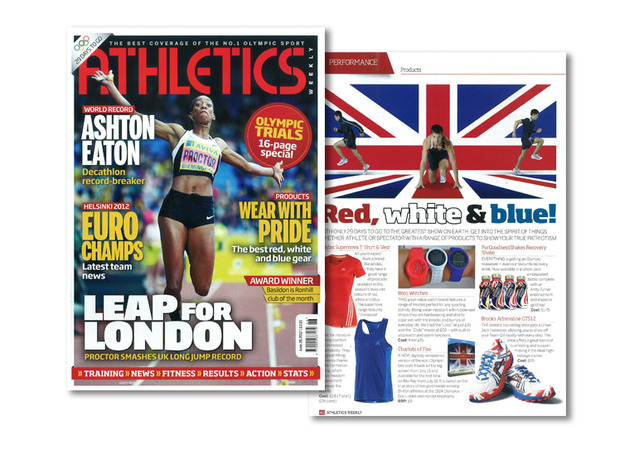 Breo Code Watch Atheletics Weekly Magazine