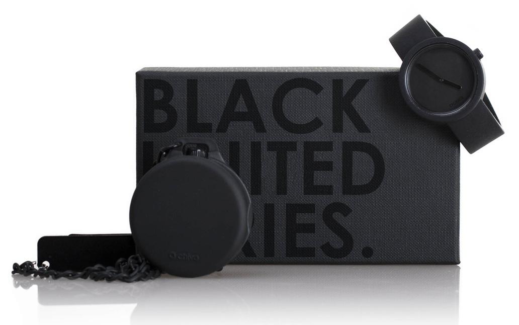 OCP47 Oclock Watch black limited series