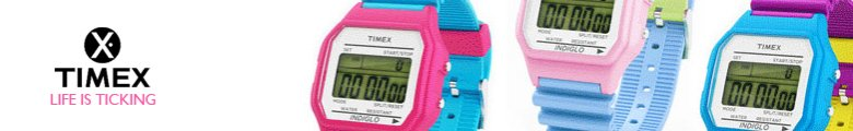 Orange Timex Watches Silicon Watches