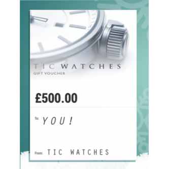 Win a £500 Gift Voucher to Spend at Tic Watches