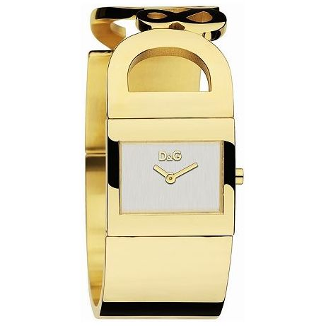 D&G Watches Is Forever Gold Bracelet Womens Watch DW0222 Strap: Steel