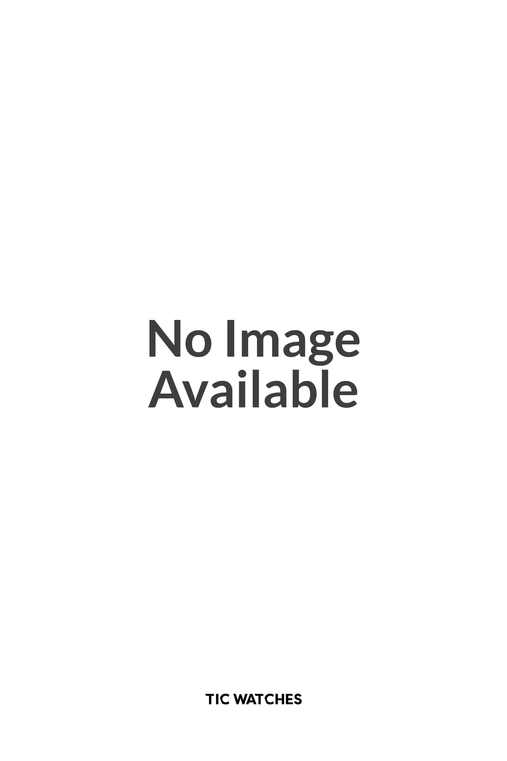 Zango Stainless Black & White Leather Mens Designer Watch DW0194