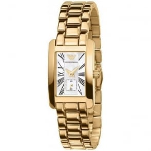 Armani Watches Classic Gold Womens Watch AR0175