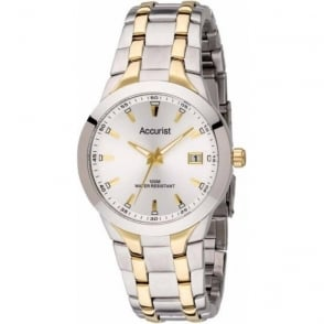 Accurist MB859S Gold Stainless Steel Men's Watch