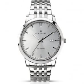 Accurist 7017 Silver Stainless Steel Men's Watch