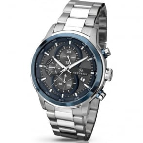 Accurist 7039 Blue Dial & Stainless Steel Men's Chronograph Watch
