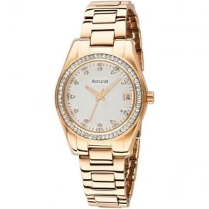 LB1560 Accurist Gold Ladies Watch