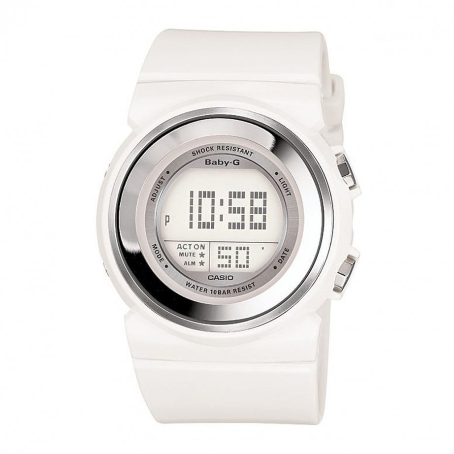 Naloa Women's White Digital Chronograph Watch ADP3090 - Ladies Watches