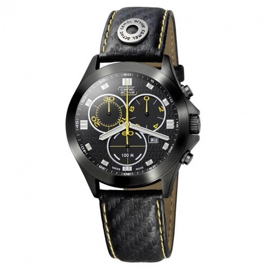 Camel Active Watches Black Cruiser Watch A618.5472B.PBPA