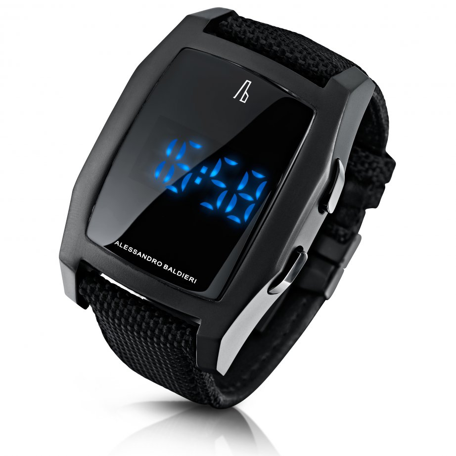 Alessandro baldieri watch black end of time digital watch ab0041 for Watches digital