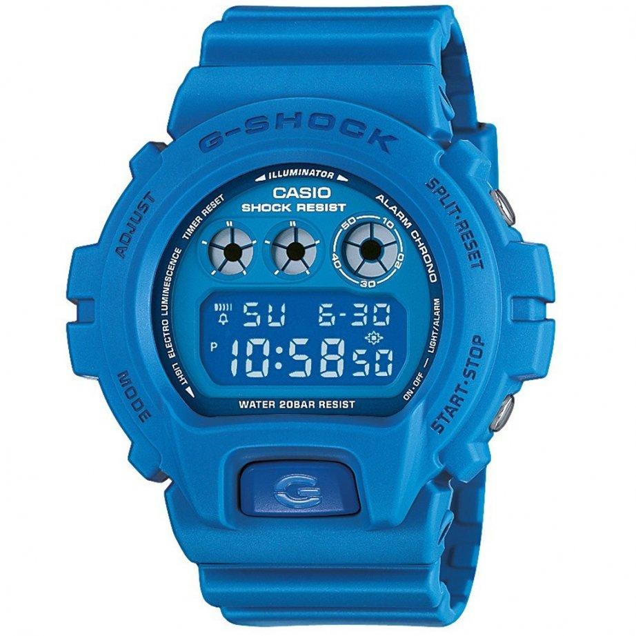 Shock Watches Blue Crazy Colours Watch DW 6900MM 2ER