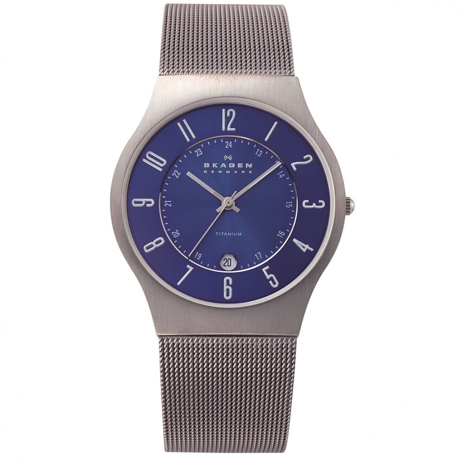 Skagen watches 233xlttn titanium mens watch buy skagen watch 233xlttn skagen watch 233xlttn uk for Titanium watches