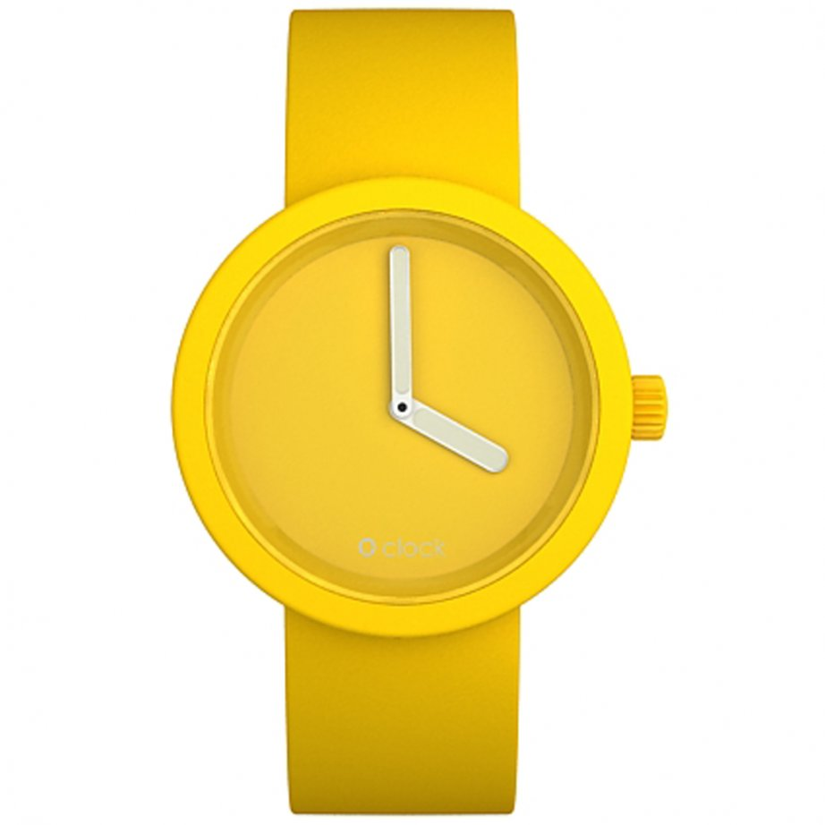 Watch Tone On Yellow Buy O Clock Silicon OCT21 UK