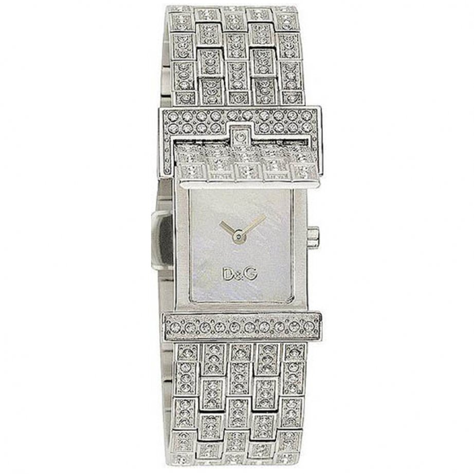 Watches Bianca Silver with White Crystal Designer Womens Watch