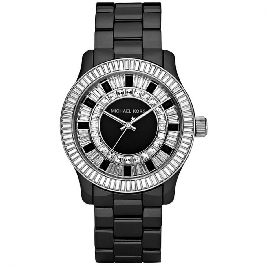 Michael Kors Watches Ladies Black Ceramic Watch MK5362