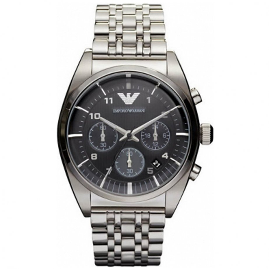 emporio armani ar0373 mens silver classic watch cheapest armani ar0373 silver watch uk. Black Bedroom Furniture Sets. Home Design Ideas