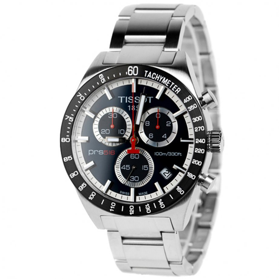Tissot Watches T044.417.21.031.00 Silver Chronograph Mens Watch