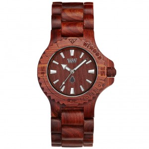 WeWood Watches Date Brown Watch WDBROW