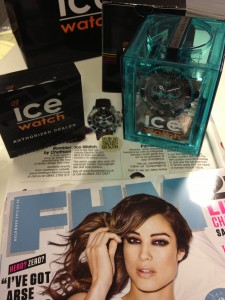 Ice Chrono Elektric Watch in FHM