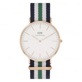 0108DW Classic 40 Nato Nottingham Gents Nylon Watch