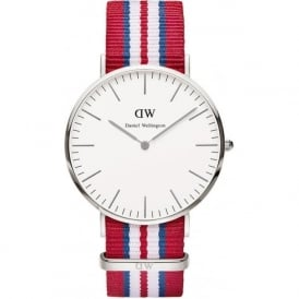 Daniel Wellington 0212DW Classic 40 Nato Exeter Gents Nylon Watch
