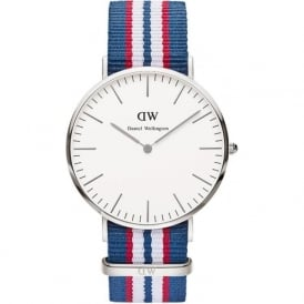 Daniel Wellington 0213DW Classic 40 Nato Belfast Gents Nylon Watch