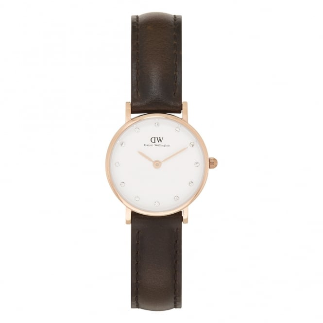 Daniel Wellington 0903DW Classy 26 Bristol Ladies Brown Leather Watch