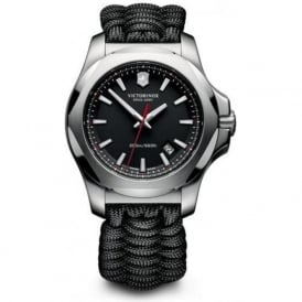 Victorinox Swiss Army 241726.1 Limited Edition I.N.O.X Black Naimakka Paracord Swiss Watch