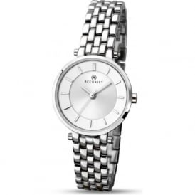 Accurist 8006 Classic Stainless Steel Bracelet Ladies Watch