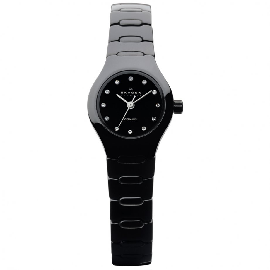 816xsbxc1 black ceramic womens skagen