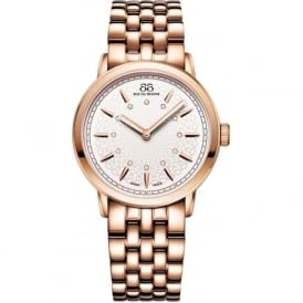 88 Rue Du Rhone 87WA120013 35mm Double 8 Origin Ladies Rose Gold Diamond Watch