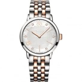 88 Rue Du Rhone 87WA140005 35mm Double 8 Origin Ladies Two Tone MoP Diamond Watch