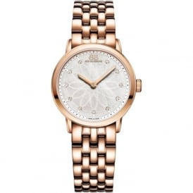 88 Rue Du Rhone 87WA142903 29mm Double 8 Origin Ladies Rose Gold Diamond Watch