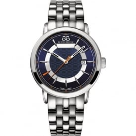 88 Rue Du Rhone 87WA144203 42mm Double 8 Origin Gents Stainless Steel & Blue Two Toned Watch