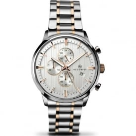 Accurist 7035 Men's Stainless Steel Chronograph Watch