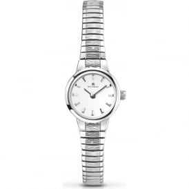 Accurist 8049 Slim Silver Stainless Steel Ladies Watch