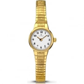 Accurist 8050 Gold Expanding Ladies Watch