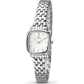 Accurist 8067 Silver Stainless Steel Ladies Watch