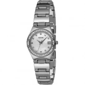 Accurist LB1662P Crystal Case Stainless Steel Watch