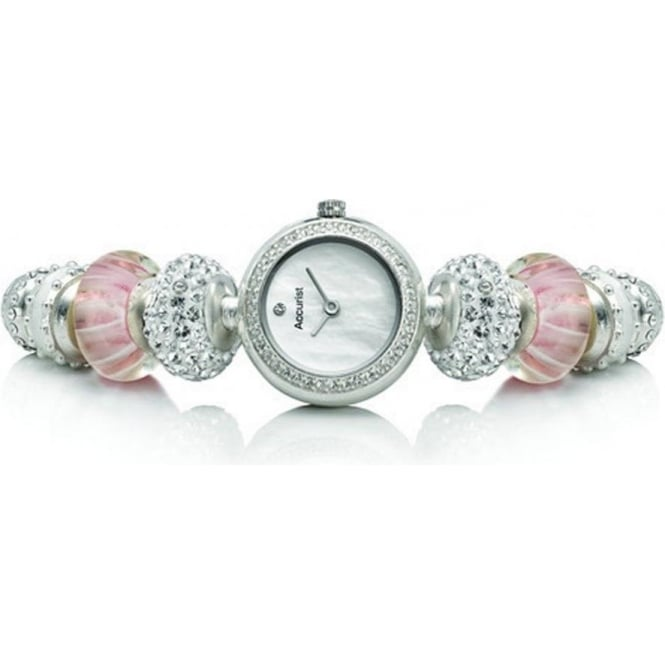 Accurist Charmed Silver Ladies Watch LB1602P
